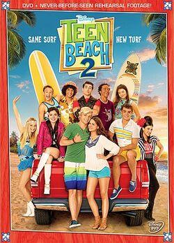 Teen Beach 2 DVD