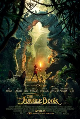 The Jungle Book (2016) - Film Poster