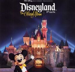 Disneyland Park The Official Album (2001 CD)