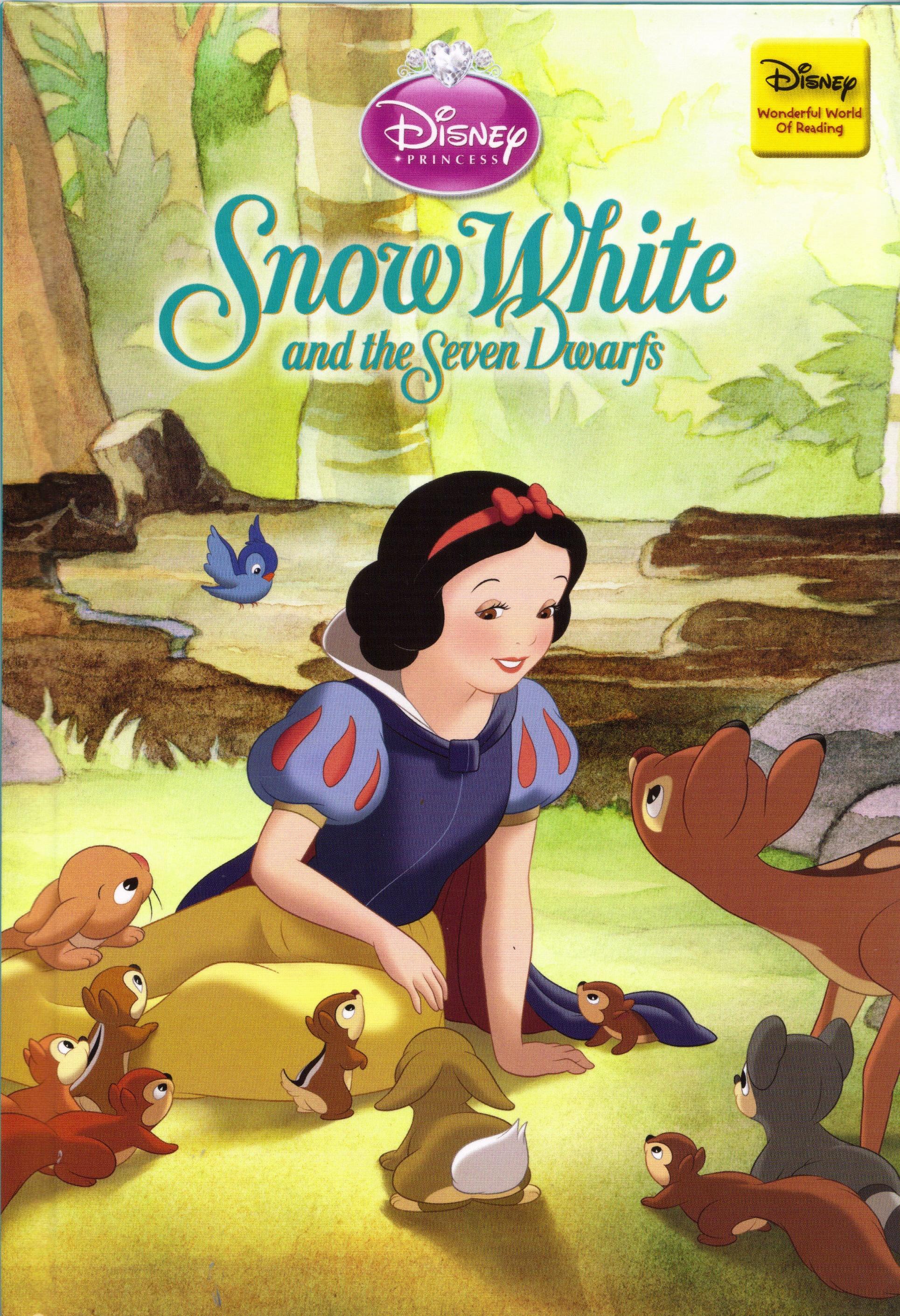 Snow white and the seven dwarfs disney s wonderful world of reading disney wiki fandom powered by wikia