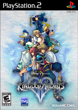 Kingdom Hearts II Boxart NA