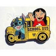 Lilo stitch bus pin