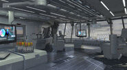 Helicarrier Lab Concept Art 1