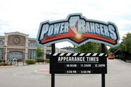 Power Rangers Time Sign