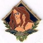 Tarzanportraitpin