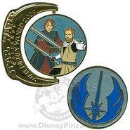 WDW - Star Wars Weekends 2009 - Symbols - Jedi Obi-Wan and Anakin Skywalker