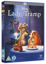 Lady and the Tramp 2012 UK DVD