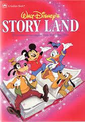 Walt Disney's Story Land 1987 Cover