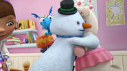 Lambie and chilly hugging3