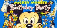 Walt Disney's Mickey Mouse's Birthday Party