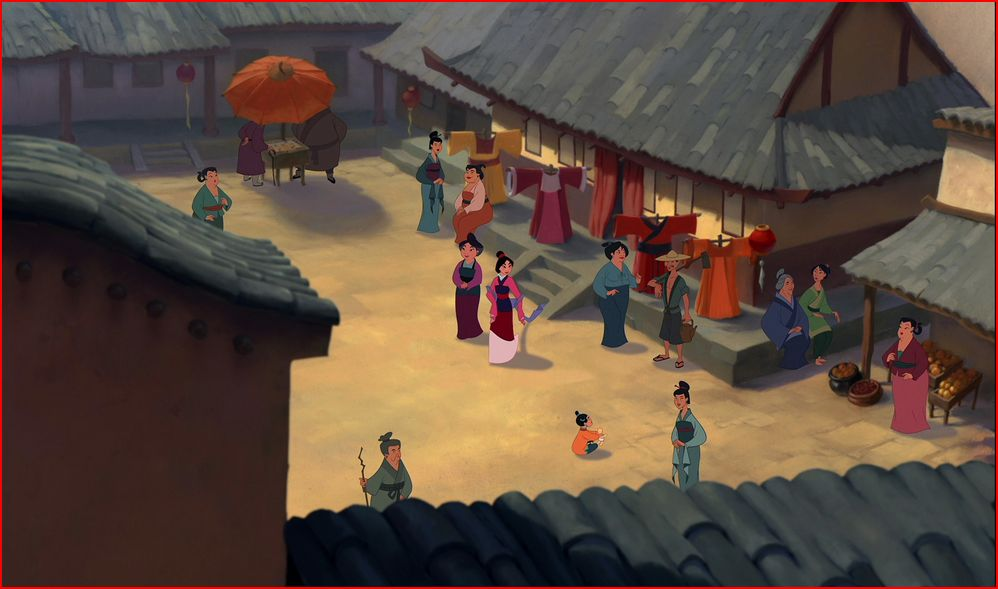 Village Mulan Disney Wiki Fandom Powered By Wikia