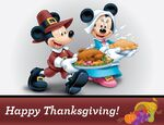 Minnie Mickey Thanksgiving