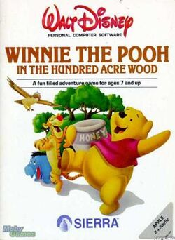 Winnie the Pooh in the Hundred Acre Wood cover