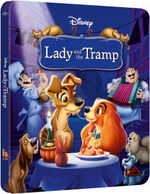 Lady and the Tramp Steelbook