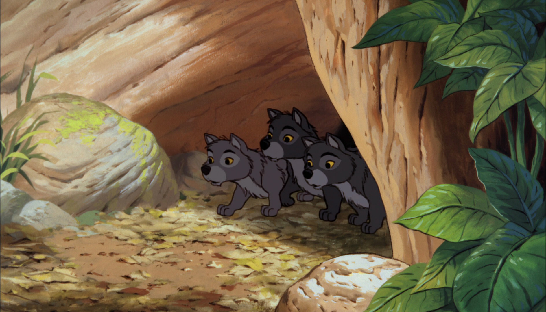 The Jungle Book 2016 (1967 style) Clip 4: Wolves - YouTube