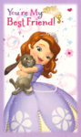 Sofia the first valentine 3