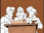 Benjamin Franklin,John Adams and Thomas Jefferson