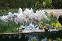 Storybook Land Canal Boats Frozen