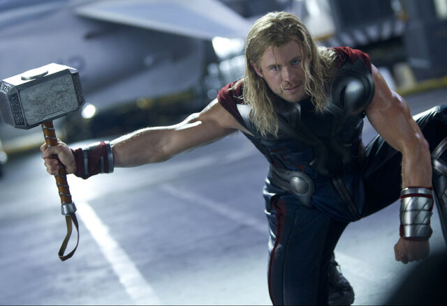 File:Thor with Hammer.jpg