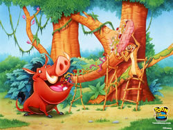 Timon & Pumbaa wallpaper