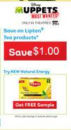 Free-lipton-walmart