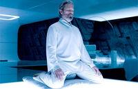 Kevin Flynn Meditating