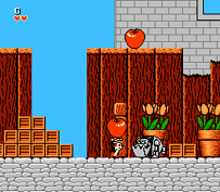 Rescue Rangers NES Gameplay