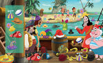 Pirate Island-First Look and Find book