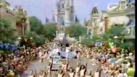 Disney World Delta Commercial