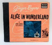 Ginger rogers as alice in alice in wonderland