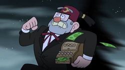 Intro grunkle stan running