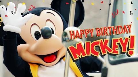 Mickey's Birthday Trip Around the World 2016 Happy Birthday Mickey