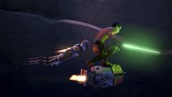 Imperial Supercommandos Sabine,Ezra and Chopper