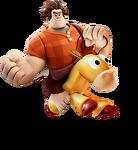 Ralph riding Bullseye