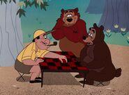 Humphrey at a checker tournament