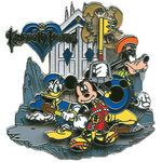 Mickey Donald Goofy KH Pin