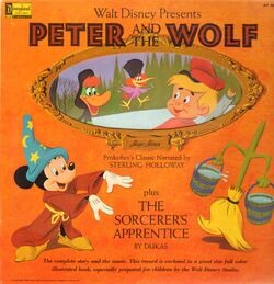 Disney-walt disney presents peter and the wolf (plus the sorcerers apprentice)