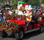 Phineas and Ferb at Disney Christmas Parade