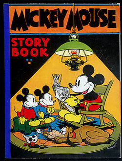 Mickey mouse story book 4