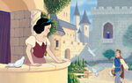 Disney Princess Snow White's Story Illustraition 2