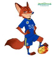 Nick Wilde Leicester City