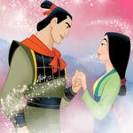 Li Shang And Mulan 2
