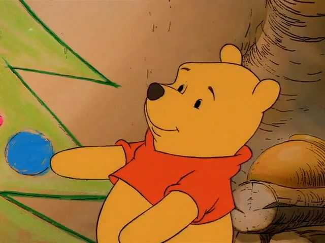 File:Pooh with his Christmas tree.jpg