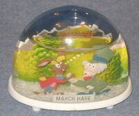 Marx march hare snow dome 640