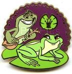 Booster Collection - The Princess and the Frog - Tiana and Naveen as Frogs Only
