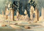 Snow White and the Seven Dwarfs Cottage Concept Art 1