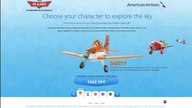 American Airlines & Disney's Planes