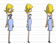 Marci Model Sheet