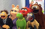 Muppets on GMA March 14 2014