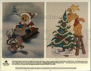 Winnie the Pooh and Christmas Too Press Photo
